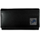 Siskiyou Buckle FFW105 Detroit Lions Leather Women's Wallet