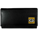 Siskiyou Buckle FFW115 Green Bay Packers Leather Women's Wallet