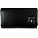 Siskiyou Buckle FFW125 Oakland Raiders Leather Women's Wallet