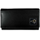 Siskiyou Buckle FFW130 St. Louis Rams Leather Women's Wallet