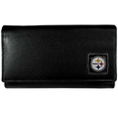 Siskiyou Buckle FFW160 Pittsburgh Steelers Leather Women's Wallet