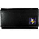Siskiyou Buckle FFW165 Minnesota Vikings Leather Women's Wallet