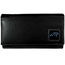 Siskiyou Buckle FFW170 Carolina Panthers Leather Women's Wallet