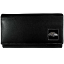 Siskiyou Buckle FFW180 Baltimore Ravens Leather Women's Wallet