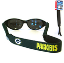 Siskiyou Buckle FGC115 Green Bay Packers Neoprene Sunglass Strap