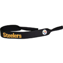 Siskiyou Buckle FGC160 Pittsburgh Steelers Neoprene Sunglass Strap