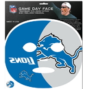 Siskiyou Buckle Detroit Lions Game Face Temporary Tattoo, FGFD105