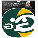 Siskiyou Buckle Green Bay Packers Game Face Temporary Tattoo, FGFD115