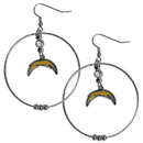 Siskiyou Buckle FHE040 San Diego Chargers 2 Inch Hoop Earrings