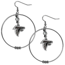 Siskiyou Buckle FHE070 Atlanta Falcons 2 Inch Hoop Earrings