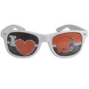 Siskiyou Buckle FHGD025W Cleveland Browns I Heart Game Day Shades