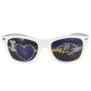 Siskiyou Buckle Baltimore Ravens I Heart Game Day Shades, FHGD180W