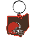 Siskiyou Buckle FHPK025 Cleveland Browns Home State Flexi Key Chain
