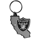 Siskiyou Buckle Oakland Raiders Home State Flexi Key Chain, FHPK125