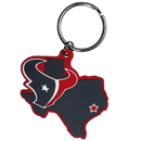 Siskiyou Buckle FHPK190 Houston Texans Home State Flexi Key Chain