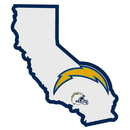 Siskiyou Buckle Los Angeles Chargers Home State Decal, FHSD040