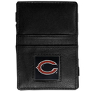 Siskiyou Buckle FJL005 Chicago Bears Leather Jacob's Ladder Wallet