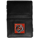 Siskiyou Buckle FJL010 Cincinnati Bengals Leather Jacob's Ladder Wallet