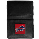 Siskiyou Buckle FJL015 Buffalo Bills Leather Jacob's Ladder Wallet