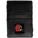 Siskiyou Buckle FJL025 Cleveland Browns Leather Jacob's Ladder Wallet