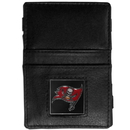 Siskiyou Buckle FJL030 Tampa Bay Buccaneers Leather Jacob's Ladder Wallet