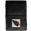 Siskiyou Buckle FJL035 Arizona Cardinals Leather Jacob's Ladder Wallet