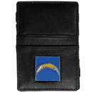 Siskiyou Buckle FJL040 San Diego Chargers Leather Jacob's Ladder Wallet