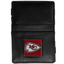 Siskiyou Buckle FJL045 Kansas City Chiefs Leather Jacob's Ladder Wallet