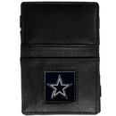 Siskiyou Buckle FJL055 Dallas Cowboys Leather Jacob's Ladder Wallet