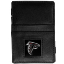 Siskiyou Buckle FJL070 Atlanta Falcons Leather Jacob's Ladder Wallet