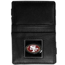 Siskiyou Buckle FJL075 San Francisco 49ers Leather Jacob's Ladder Wallet