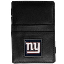 Siskiyou Buckle FJL090 New York Giants Leather Jacob's Ladder Wallet