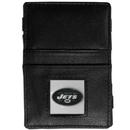 Siskiyou Buckle FJL100 New York Jets Leather Jacob's Ladder Wallet