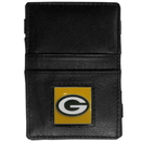 Siskiyou Buckle FJL115 Green Bay Packers Leather Jacob's Ladder Wallet