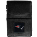 Siskiyou Buckle FJL120 New England Patriots Leather Jacob's Ladder Wallet