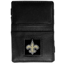 Siskiyou Buckle FJL150 New Orleans Saints Leather Jacob's Ladder Wallet