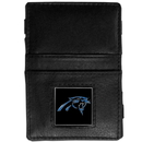 Siskiyou Buckle FJL170 Carolina Panthers Leather Jacob's Ladder Wallet