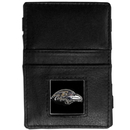 Siskiyou Buckle FJL180 Baltimore Ravens Leather Jacob's Ladder Wallet