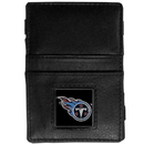 Siskiyou Buckle FJL185 Tennessee Titans Leather Jacob's Ladder Wallet