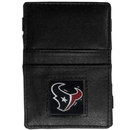 Siskiyou Buckle FJL190 Houston Texans Leather Jacob's Ladder Wallet