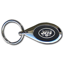 Siskiyou Buckle FKC100O New York Jets Etched Key Chain