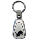Siskiyou Buckle FKC105 Detroit Lions Etched Key Chain