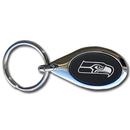 Siskiyou Buckle FKC155O Seattle Seahawks Etched Key Chain