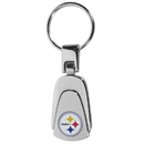 Siskiyou Buckle Pittsburgh Steelers Steel Teardop Key Chain, FKP160
