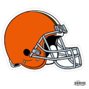 Siskiyou Buckle FLAM025 Cleveland Browns 8 inch Logo Magnets