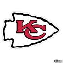 Siskiyou Buckle FLAM045 Kansas City Chiefs 8 inch Logo Magnets