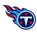 Siskiyou Buckle FLAM185 Tennessee Titans 8 inch Logo Magnets