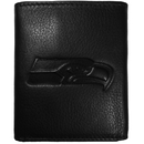 Siskiyou Buckle FLET155 Seattle Seahawks Embossed Leather Tri-fold Wallet