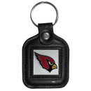 Siskiyou Buckle FLK036 Arizona Cardinals Square Leather Key Chain