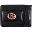 Siskiyou Buckle FLMC010 Cincinnati Bengals Leather Cash & Cardholder